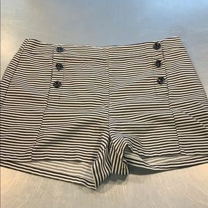 Forever 21 striped shorts